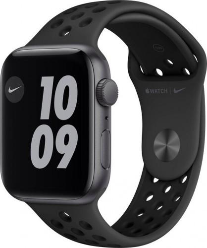 Apple Watch Nike SE GPS, 44mm, šedá