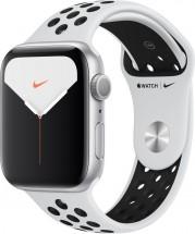 Apple Watch Nike Series 5 GPS, 44mm,strieborná,športový remienok