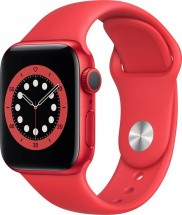 Apple Watch S6 GPS, 40mm, červená