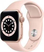 Apple Watch S6 GPS, 40mm, ružová