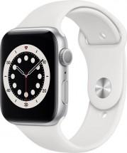 Apple Watch S6 GPS, 44mm, strieborná