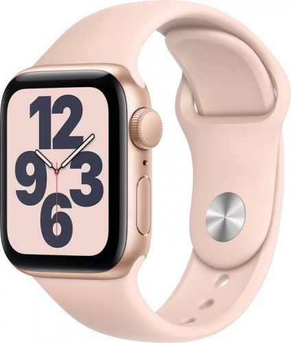 Apple Watch SE GPS, 40mm, ružová