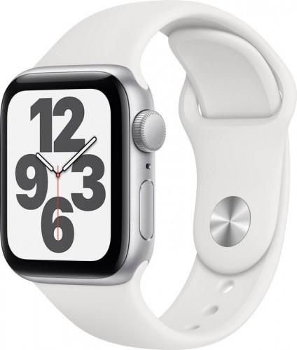 Apple Watch SE GPS, 40mm, strieborná