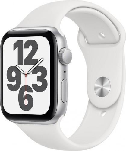 Apple Watch SE GPS, 44mm, strieborná
