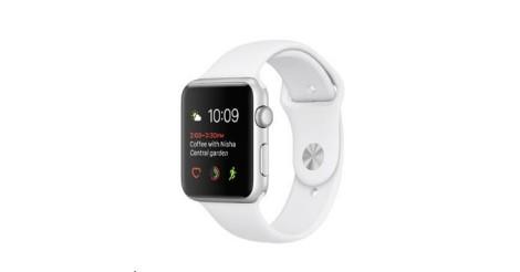 cf1d29dbb Apple Watch Series 2, 38mm puzdro zo strieborného AL + biela | OKAY.sk