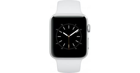 585000c3b Apple Watch Series 2, 42mm pouzdro ze stříbrného AL + bílá | OKAY.sk