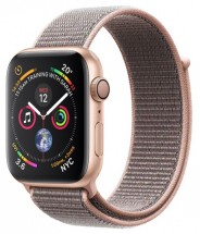 Apple Watch Series 4 GPS, 40mm, ružová, prevliekací remienok