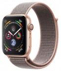Apple Watch Series 4 GPS, 40mm, ružová, prevliekací remienok