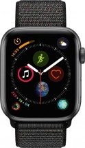 Apple Watch Series 4 GPS, 44mm, sivá, prevliekací remienok