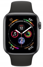 Apple Watch Series 4 GPS, 44mm, sivá, športový remienok