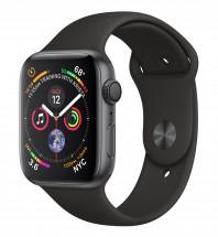 Apple Watch Series 4 GPS, 44mm, sivá, športový remienok POUŽITÉ,
