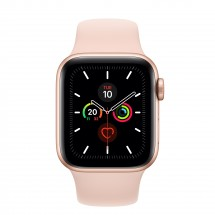 Apple Watch Series 5 GPS, 40mm, zlatá, športový remienok