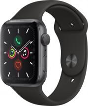 Apple Watch Series 5 GPS, 44mm, sivá, športový remienok