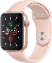Apple Watch Series 5 GPS, 44mm, zlatá, športový remienok