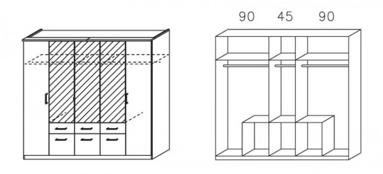Apulien - s krídlovými dverami, 5 dvere, rampa