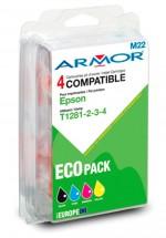 ARMOR náplň, multipack Black + C/M/Y B10215R1