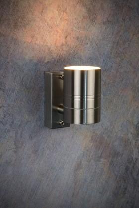Arne - vonkajšie osvetlenie, 35W, 1xGU10, 11 cm (strieborná)