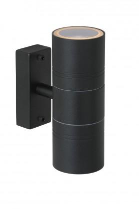 Arne - vonkajšie osvetlenie, 35W, 2xGU10, 17 cm (čierna)