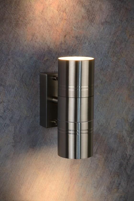 Arne - vonkajšie osvetlenie, 35W, 2xGU10, 17 cm (strieborná)