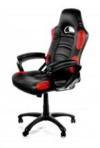 AROZZI herní židle ENZO/ černočervená