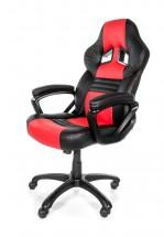 AROZZI herní židle MONZA/ černočervená