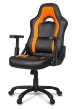AROZZI herní židle MUGELLO/ černooranžová