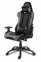 AROZZI herní židle VERONA/ černošedá