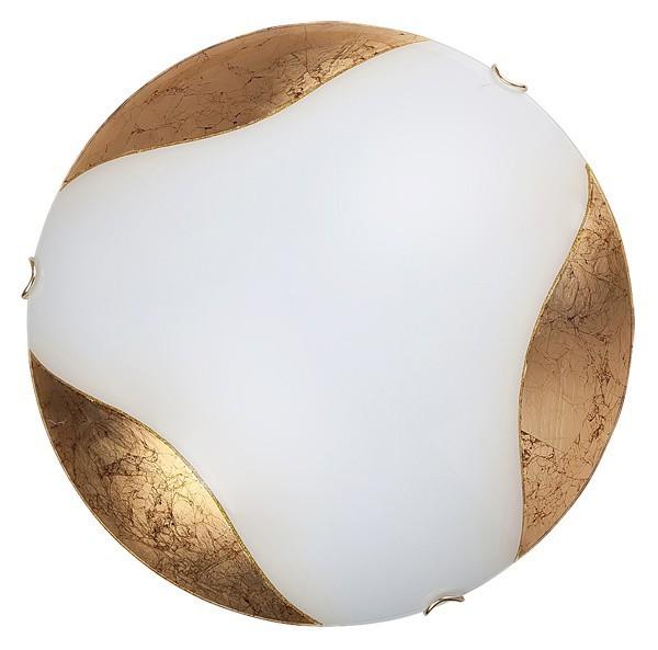 Art - Nástenná svietidla, E27 (biela/zlatá)