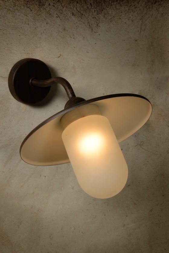 Aruba - vonkajšie osvetlenie, 27W, E27, 37 cm (bronzová)