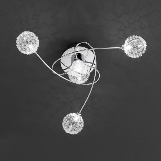 Astro - Stropné osvetlenie, G4 (chróm)