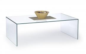 Astura - konferenčný stolík skleněný (průhledná)