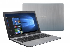 "ASUS i3-7020U 15.6"" FHD UMA 4GB 1TB WL Cam Win10 silver"