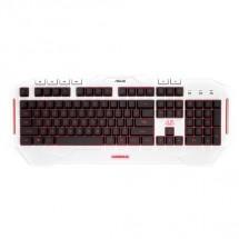 ASUS keyboard Cerberus ARCTIC Keyboard CZ/SK POUŽITÉ, NEOPOTREBOV