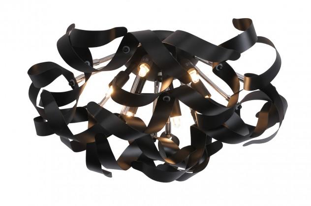 Atoma - stropné osvetlenie, 33W, 6xG9 (čierna)
