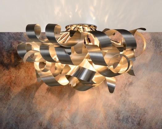 Atoma - stropné osvetlenie, 33W, 6xG9 (strieborná)