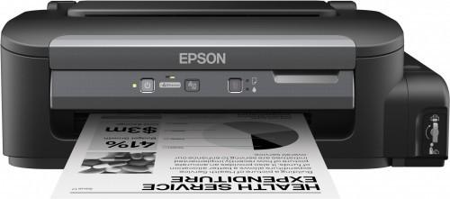Atramentová tlačiareň EPSON tiskárna ink WorkForce M100, CIS, A4, 34ppm,ČB1ink,USB,NET
