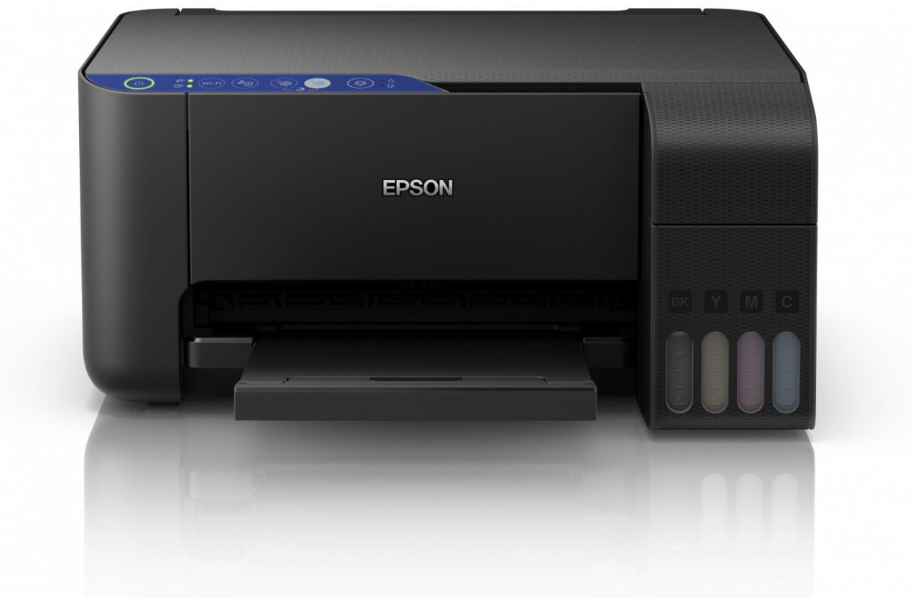 Atramentová tlačiareň Multifunkčná atramentová tlačiareň Epson EcoTank L3151 farebná PO