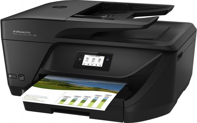 Atramentová tlačiareň Multifunkčná atramentová tlačiareň HP Officejet 6950