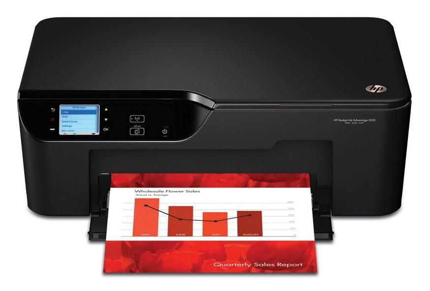 Atramentové multifunkce HP Deskjet 3525 Ink Advantage e-All-in-One (CZ275C) ROZBALENO