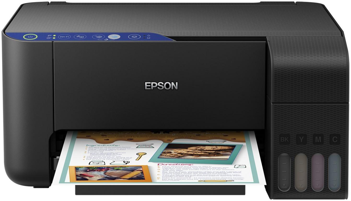 Atramentové multifunkce Multifunkčná atramentová tlačiareň Epson EcoTank L3151 farebná