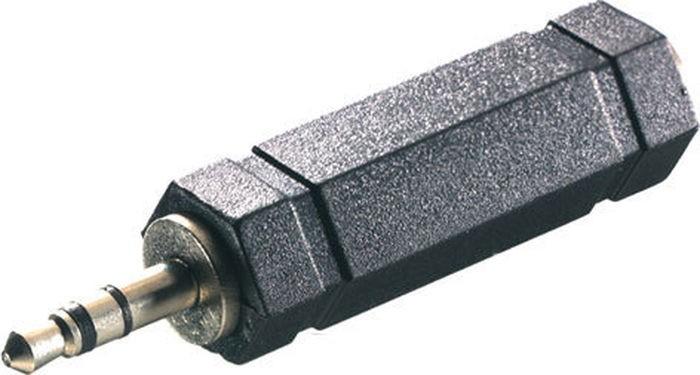 Audio káble, repro káble + konektory Adaptér Vivanco 33704, jack/jack PB 502
