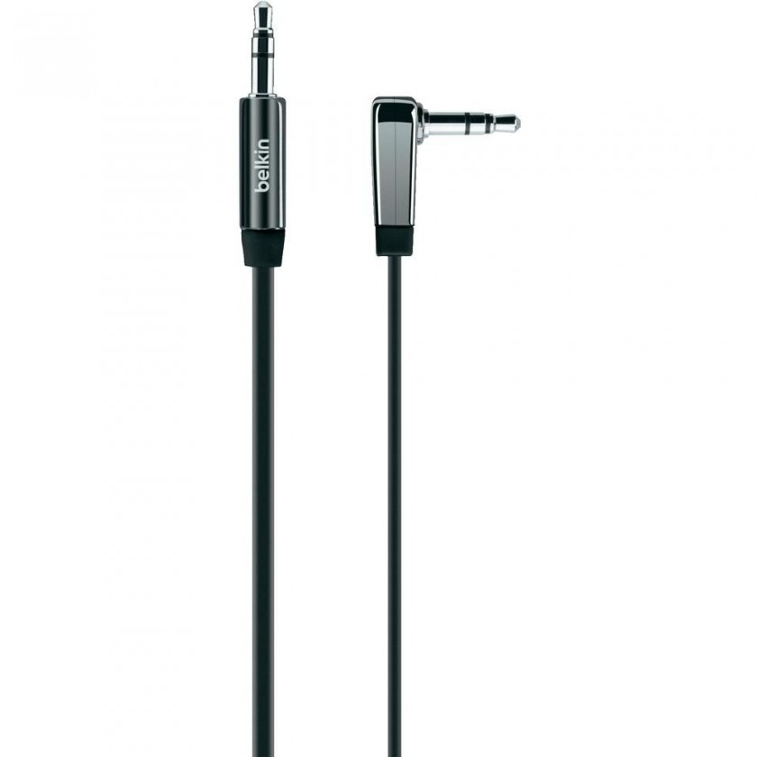 Audio káble, repro káble + konektory Belkin AV10128cw03-BLK