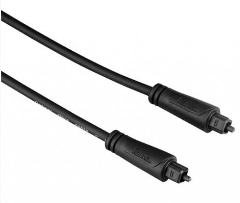 Audio káble, repro káble + konektory Optický audio kábel Hama 122251 ODT, vidlica-vidlica, 1,5m