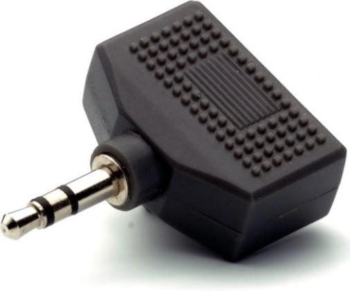 Audio káble, repro káble + konektory Rozbočovač Vivanco 30199, jack/2xjack