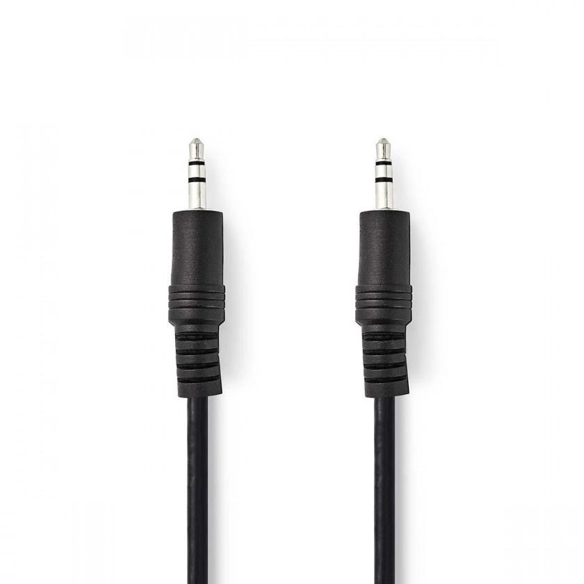 Audio káble, repro káble + konektory Stereo audio kábel Valueline, jack / jack, 3,5 mm