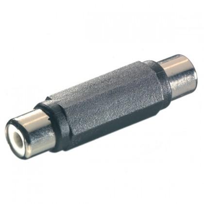 Audio káble, repro káble + konektory  Vivanco spojka Cinch-Cinch 41035