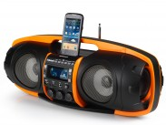 Audiosonic RD-1549, čierna/oranžová