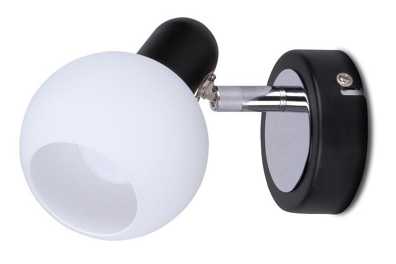 Aurel - Stropné osvetlenie, 6351 (čierna/chromová/biela)