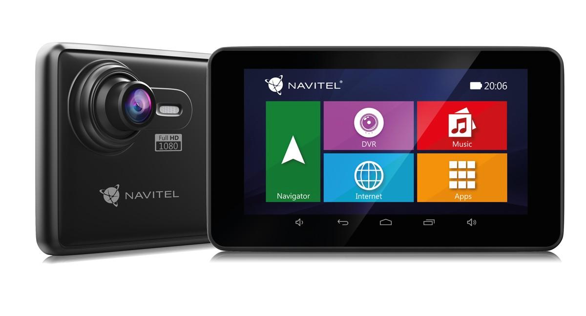 """Auto navigácia 2v1 Kamera+GPS Navitel RE900 5"""", Truck, 140°, 47 krajín, LM"""