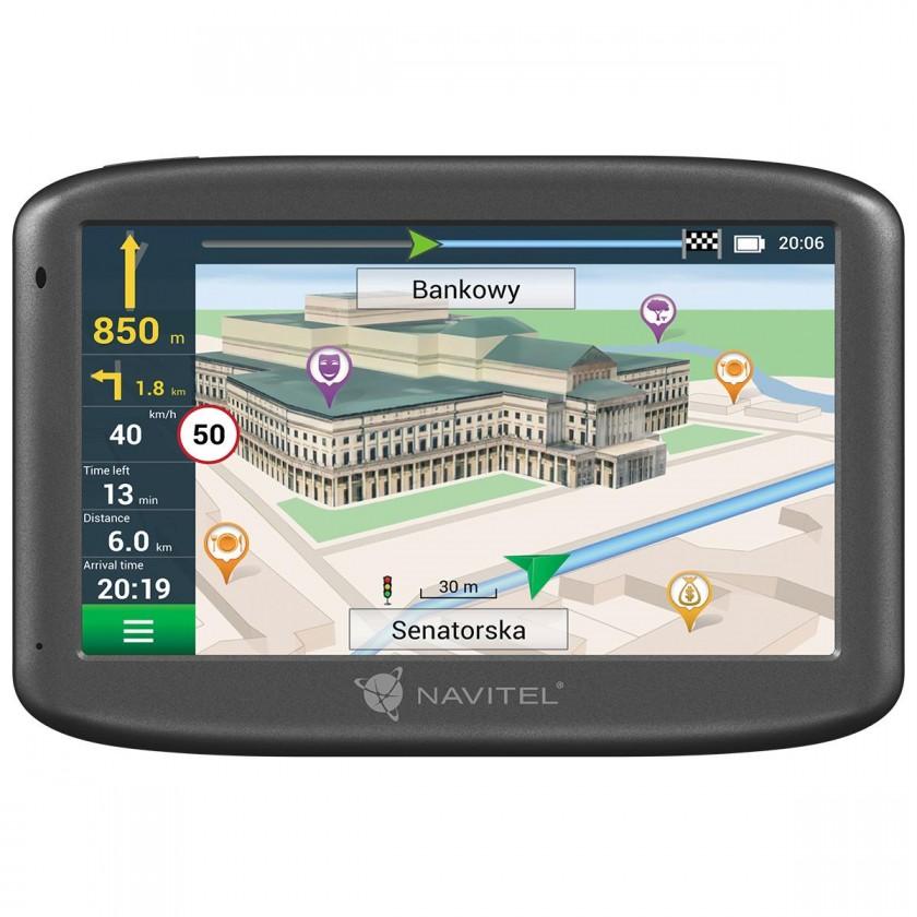 """Auto navigácia GPS Navigácia 5"""" Navitel E505 LM, 47 krajín, Magnet"""